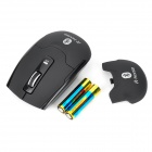 Matte Bluetooth V3.0 1600dpi Wireless Mouse - Black