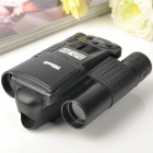 "8.0MP CMOS 10x15 Zoom Telescope Binocular Digital Camera - Black (1.4"" LCD / 2 x AA)"