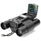 8.0MP CMOS 10x15 Zoom Telescope Binocular Digital Camera - Black (1.4