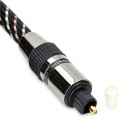 Digital Audio Optical Fiber Toslink Cable - Black (10 Meters)