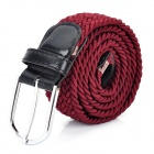 Sports Nylon Waist Belt - Brownish Red
