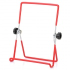 Folding Stainless Steel Multi-Angle Stand Holder for 7'' Tablets - Red