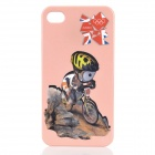 London 2012 Summer Olympics Sports Pattern Protective Case for iPhone 4 / 4S - Cycling