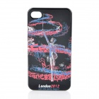 London 2012 Olympics Sports Pattern Protective Back Case for iPhone 4 / 4S - Rhythmic Gymnastics