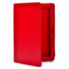 Protective PU Leather Case for Acer Iconia Tab A200 - Red