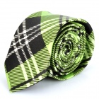 Fashion Men's Spinning Fibre Neck Tie - Green