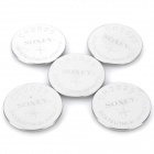 3V CR2025 Cell Button Batteries (5-Piece Pack)