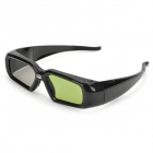Universal USB Rechargeable 3D Active Shutter Glasses for DLP Projector - Black