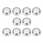 AG12 / LR43 1.55V Alkaline Cell Button Batteries (10-Piece Pack)