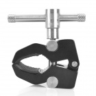 Crab Clamp Magic Arm Clamp for Camera Camcorder - Black (S-Size)