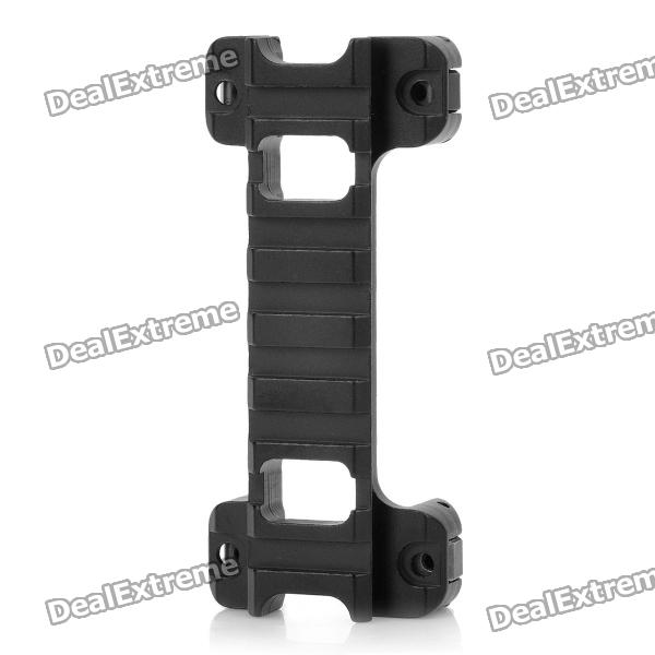 Tactical 20mm Aluminum Alloy G3/MP5 Gun Rail Mount - Black 989 aluminum alloy air duster gun silver