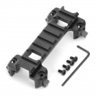 20mm tactique en alliage d'aluminium G3/MP5 Gun Rail Mount - Noir
