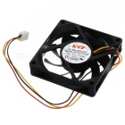 PC Caso 3-Pin Brushless Computador Ventilador Cooler (7 x 7cm)