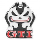 3D Cool Car Decoration Sticker - GTI Atrocious Rabbit