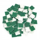 4-Way Adhesive Cable Tie Base Mounts (100-Piece Pack)