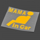 Mama-in-Car Car Vehicle Auto Van Truck Decal Sticker