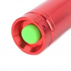 NEW-H60 270LM 3-Mode Cool White Zoom Flashlight - Red (1 x 14500 / 1 x AA)