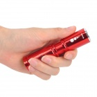 NEW-H60 Cree XP-E Q5 270LM 3-Mode Cool White Zoom Flashlight - Red (1 x 14500 / 1 x AA)