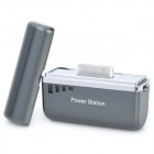 1500mAh Mini External Battery for iPhone 4 / 4S / iPod - Grey