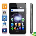 "WG9220 Android 2.3 WCDMA Bar Phone w/ 5.0"" Capacitive, Dual-SIM, TV, GPS and Wi-Fi - Black"