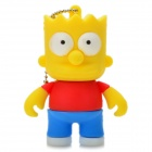 The Simpsons Bart Simpson Figure Style USB 2.0 Flash Drive - White (8GB)