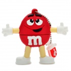Red M&M Spokescandy Style USB 2.0 Flash Drive (16GB)