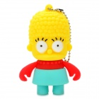 The Simpsons Marge Simpson Figure Style USB 2.0 Flash Drive - Yellow (4GB)