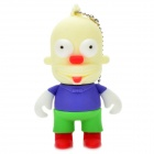 The Simpsons Krusty Figure Style USB 2.0 Flash Drive - White (4GB)