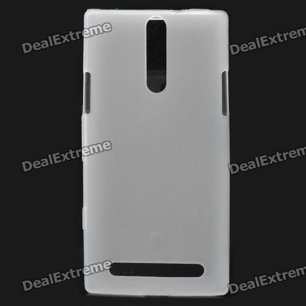 Protective PVC Back Case for Sony Xperia S / LT26i - White cell phone brand new repair parts for sony xperia s lt26i backlight back light flex refurbishment replacement