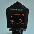 "1.3"" LED Clip-on Style Auto Tuner for Guitar/Bass/Violin - Black"