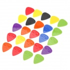 Alice AP-24G 0.58mm/0.71mm/0.81mm Guitar Picks (24-Piece)