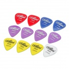 Alice AP-12H 0.58mm/0.71mm/0.81mm Plastic Guitar Picks (12-Piece Pack)