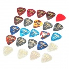 Алиса AP-24K 0.46mm/0.71mm/0.81mm Guitar Picks (24 шт Pack)