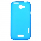 Protective PVC Back Case for HTC One X / S720e - Blue