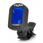"1.3"" LED Display Tuner for Saxophone/Trumpet - Black (1 x CR2032)"