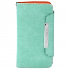 KALAIDENG Protective PU Leather Case for Sony LT26i - Green