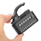 Digital Clip-on Tuner para Bass Guitar / / Violino - Preto