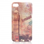 Retro Big Ben Pattern Protective Plastic Back Case for Iphone 4/4S - Close Shot
