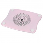 "Stylish USB Cooling Pad Fan Cooler for 15"" Laptop Notebook - Pink"