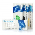 Virginia + Menthol + Blackcurrant + Wrigley Flavor Refill Cartridges (4 x 10 Pieces/Random Color)