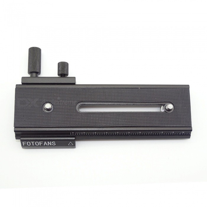 FotoMate LP-01 100mm Movable 2 Way Macro Focusing Rail Slider - Black штатив 2 fotomate lp 01 lp 01