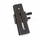 FotoMate LP-01 100mm Movable 2 Way Macro Focusing Rail Slider - Black