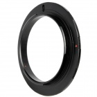52mm Macro Reverse Adapter Ring for Olympus OM Mount - Black