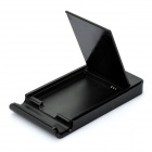 PE Power Battery Charging Dock for Samsung Galaxy Nexus / i9250 - Black (DC 5V)