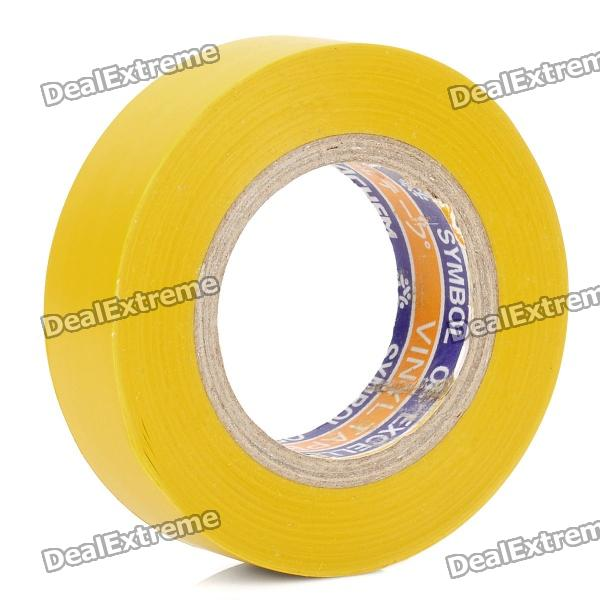 Electrical PVC Insulation Adhesive Tape - Yellow