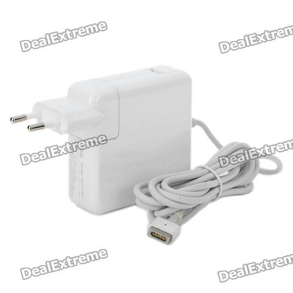 60W Power Adapter Charger for Apple MacBook - White (EU Plug)
