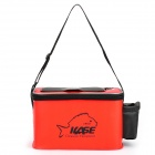 Compact Multi-function Fishing Bait Gadgets Storage Box Case - Red