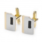 Men's Suit Cuff Links/Buttons - Golden (Pair)