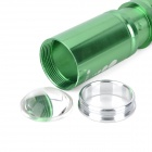 New-H60 270LM 3-Mode White Zoom Flashlight - Green (1 x 14500 / 1 x AA)