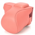 Protective PU Leather Case for Sony NEX-5N - Pink